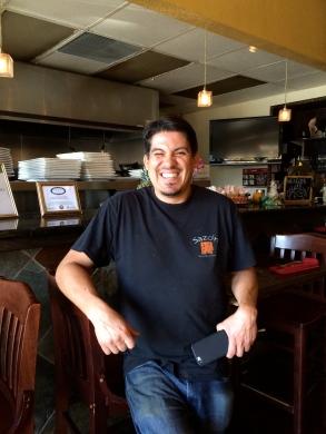Jose Navarro opened Sazón Peruvian Cuisine five years ago with his father. Photo: Jessie De La O
