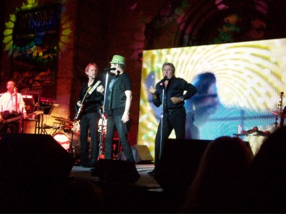 Peter, Micky & Davy performing at Mountain Winery in Saratoga, Calif. on July 10, 2011.