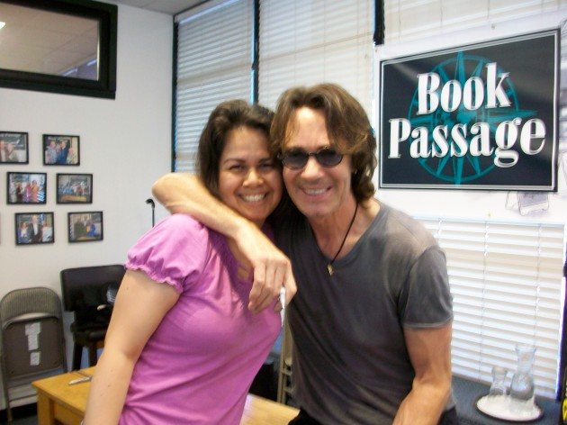 Meeting Rick Springfield on July 26, 2014.