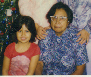 Me with my Grandma Chuy