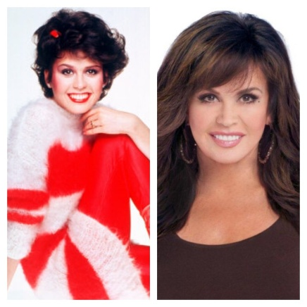 Then & Now_Marie Osmond collage